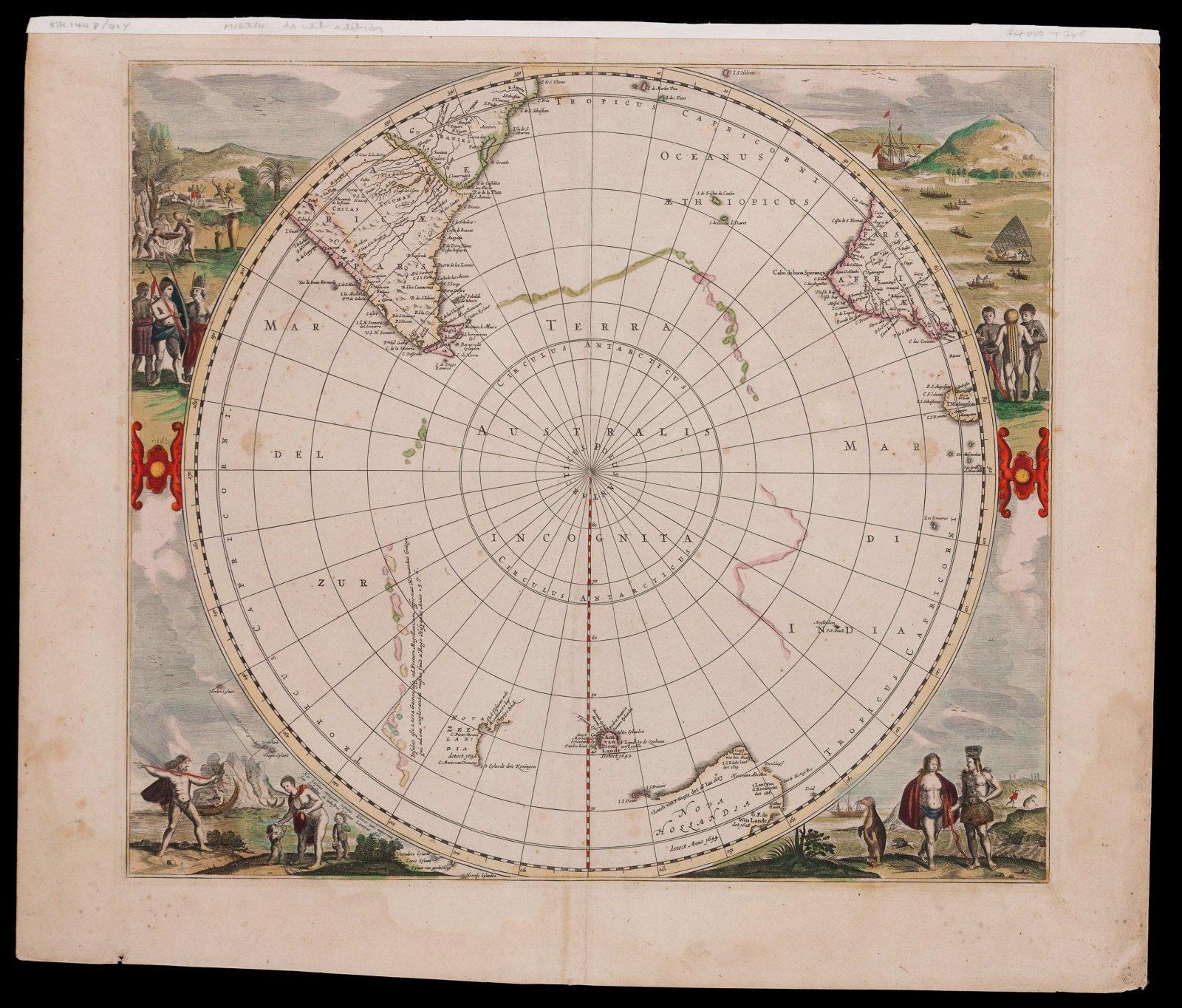 Polus antarcticus, 1637 (1680)