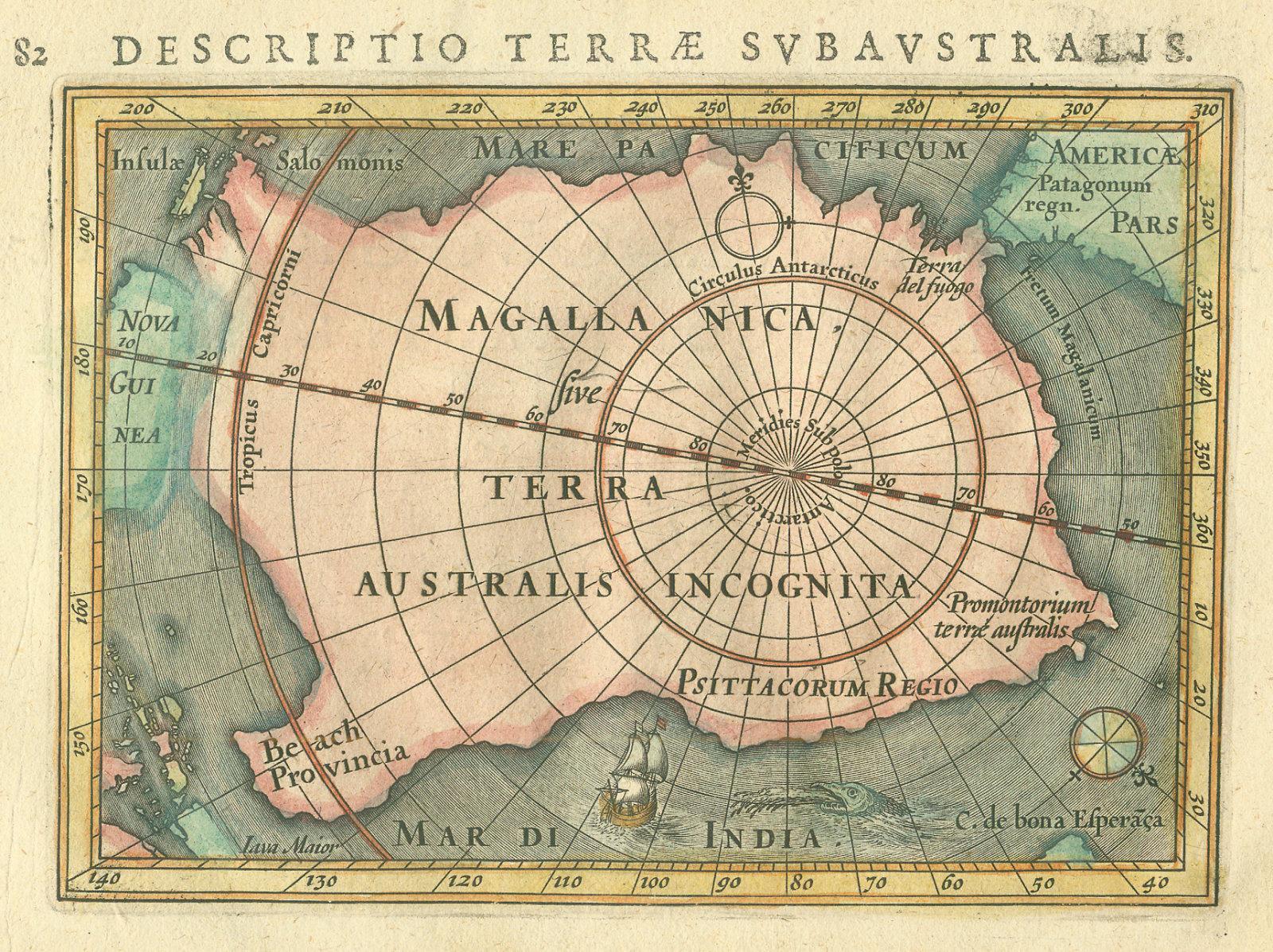 Terra Australis bertius 1616
